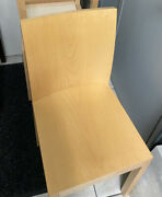 Lot Of 3 Light Wood Bulthaup Chair Furniture