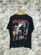 Vintage 90's Gun N Roses Glam Metal Tshirt Here Today Gone To Hell Rock Size M