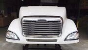 Freightliner Columbia 120 Hood New Aftermarket Complete With Headlights And Grill