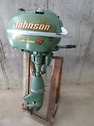 Vintage Johnson Sea-horse - Model Tn28 Outboard Engine - Local Pick Up Only Ct
