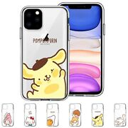 Sanrio Window Clear Jelly Cover For Iphone 13 12 11 Pro Max Mini Xs Xr Se 8 Case