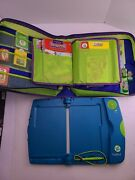 Leap Frog Leap Pad Learning System 8 Books 6 Cartridges Carrying Case W Puzzles