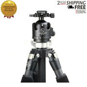 T2c40c-t3 Kit Carbon Fiber Professional Camera Tripod Stand 4 Sections For Slr