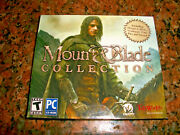 Mount And Blade Collection Pc Cd-rom, 2012 New And Still Factory Sealed