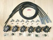 Aem Smart Coil High Output And Plug Wire 4 Mazda 20b Rotary No Igniter Required Bk