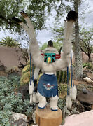 31andrdquo F Charley Eagle Kachina Doll Navajo Native American Large Signed