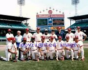 August 17, 1986 Equitable Old-timers Game White Sox Team Comiskey Park Allen