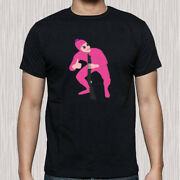 Filthy Frank Pink Guy Funny Logo Menand039s Black T-shirt Size S To 3xl