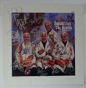 [very Very Rare] X15 Autographed And039butchering The Beatlesand039 Lithograph + Coa