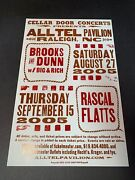 Brooks And Dunn W/ Big And Rich Rascal Flatts 2005 Hatch Show Print Poster