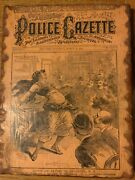The National Police Gazette March 31 1894 - Front Cover Print - Wood Art