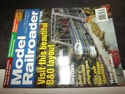 Model Railroader April 2004 Lands Div Of The B And O / Nyc 19000 Series
