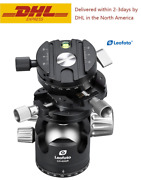 Leofoto Lh-40 Gr Panoramic Geared Ball Head With Qr Plate For Arca Swiss Tripod