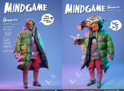 Damtoys X Coal Dog Mindgame Series Green Six 1/6 Scale Action Figure Instock