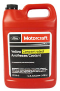 Genuine Oem Ford Motorcraft Yellow Concentrated Antifreeze Coolant 1 Gallon New