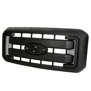 Black Grille Front Radiator Grill For 11 12 - 14 15 16 Ford F250 F350 Super Duty