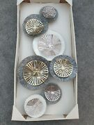 3d Metal Wall Art Rose Gold And Silver Ornate Wall Decoration Brand New Large