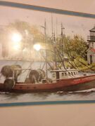 Artist Don Fusco Lady Luck Limited Numbered Signed Print Ohio Artist