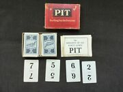 Vintage Parker Brothers, Inc. Card Game, Pit 1919 Original Box Great Condition