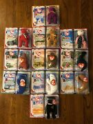 Ty Teenie Beanie Babies 2000 Mcdonalds Complete Set New In Boxes Happy Meal