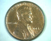 1922-d Lincoln Cent Penny Choice Uncirculated Red / Brown Ch. Unc. Rb Original