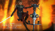 Hot Toys 1/6tms020 Star Wars Anakin Skywalker And Stap The Clone Wars Figure Toy