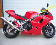 Abs Body Kit For Triumph Daytona 600 650 2003 2004 2005 Red Aftermarket Fairing