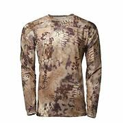 Kryptek Valhalla Ls Crew - Long Sleeve Camo Hunting Shirt Valhalla Collection