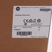Allen-bradley 1756-a4 Controllogix 4 Slots Chassis Us Stock New Factory Sealed