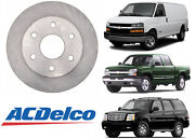 Acdelco 18a925a Advantage Non-coated Front Disc Brake Rotor New Free Shipping