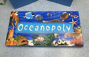Oceanopoly Ocean-opoly Monopoly Nautical Board Game Late For Sky