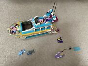 Lego Friends Dolphin Cruiser 41015 Nearly Complete