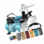 Master Airbrush Brand Cake Decorating System With Master G22 Airbrush, Air Co...