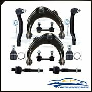 10pcs For 1998-2002 Honda Accord Front Upper Control Arms Ball Joints Sway Bars