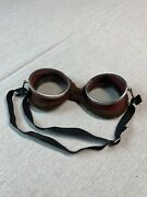 Vintage Motorcycle Goggles Glasses Aviator Retro Classic Steampunk Costume
