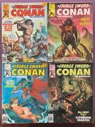 Savage Sword Of Conan 16 To 20 No 19 1976. 4 X Bronze Age Issues.