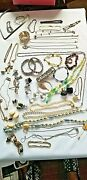 Mixed Vintage Costume To New Jewelry Lot 48 Piece Lot