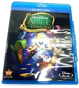 Alice In Wonderland Blu-ray/dvd 2011 2-disc Set 60th Anniversary Tested/works