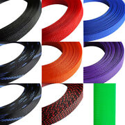 Braided Sleeving Size 25mm Sleeve Sheathing Expand Wire Protect Loom Nylon Wire