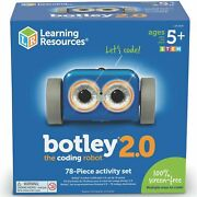 Learning Resources Botley 2.0 The Coding Robot - 78 Piece Educational Toy - 5+