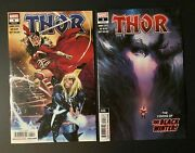 Thor 4 1st Print And 2nd Print Cameo Appearance Of The Black Winter