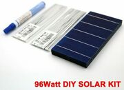 Diy Solar Panel Kit 100w Crystalline Silicone Cells Tabbing Bus Wires And Flux Pen
