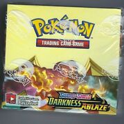 Sword And Shield Darkness Ablaze Factory Sealed Booster Box 36 Ct New Pokemon Tcg