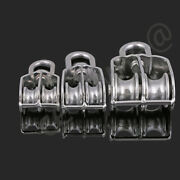 M15-m100 304 Stainless Steel Double/revolving Sheave Rope Pulley Pully Wheel