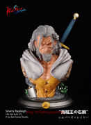 Red Haired-studio One Piece Silvers Rayleigh 1/1 Life Size Bust Statue Instock