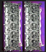 2 Ford 6.8 Sohc V-10 Cylinder Heads Cast F7ue Only 97-01 No Core