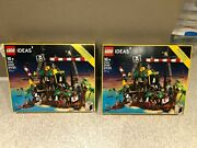X 2 Lego Ideas Pirates Of Barracuda Bay 21322 In Hand New In Boxes Rare