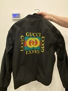 Men Logo Jacket Removable Sleeves Size 46 100 Authentic 😍