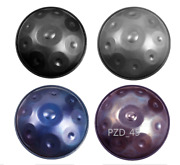 Hotspot 22andldquo9 10 11 Notes Professional Handpan Beat Drum Good Sound-new