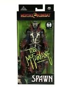 Mortal Kombat Spawn Figure Signature Edition Signed By Todd Mcfarlane 7 Le 1000